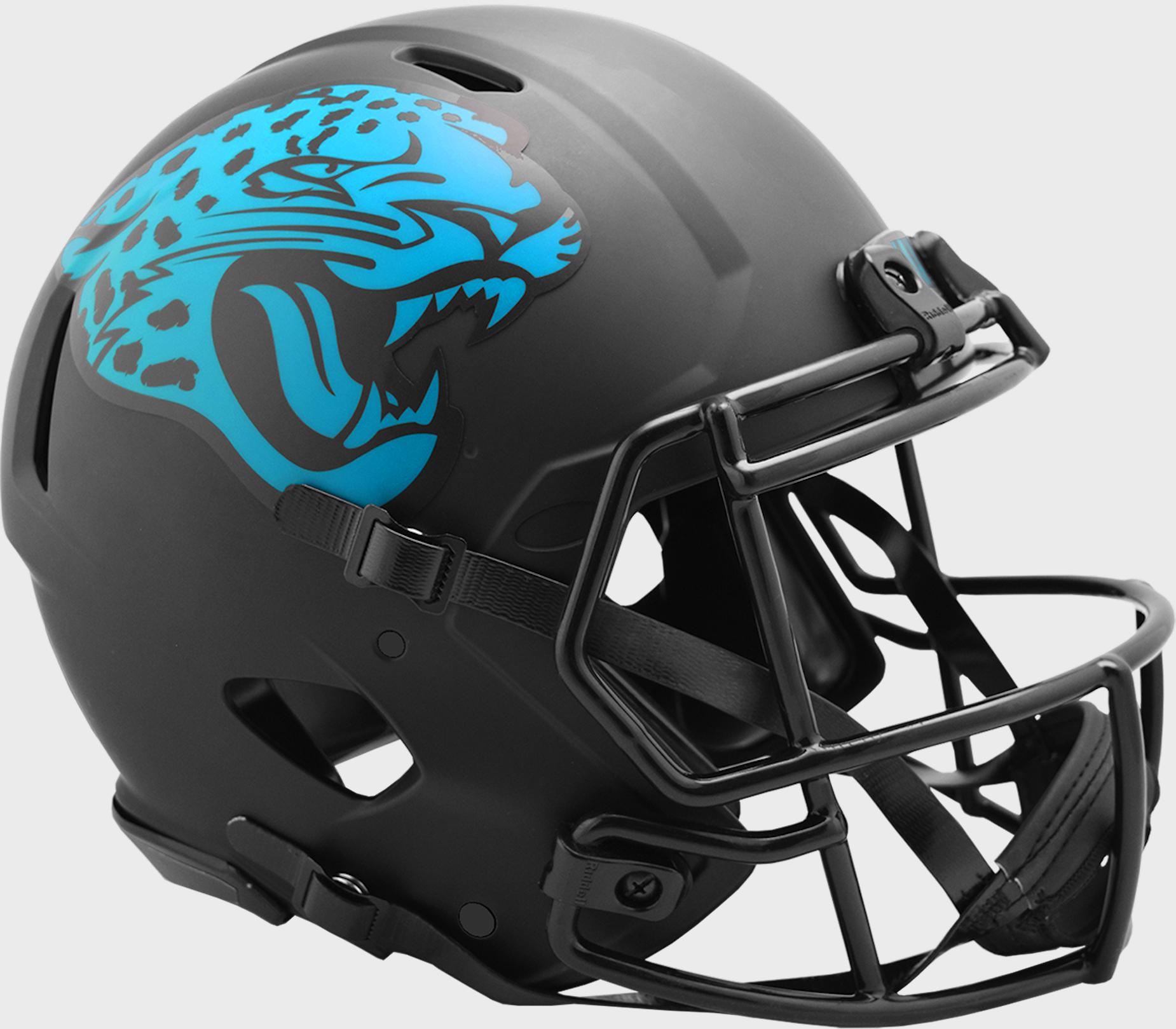 Jacksonville Jaguars Speed Football Helmet <B>ECLIPSE</B>
