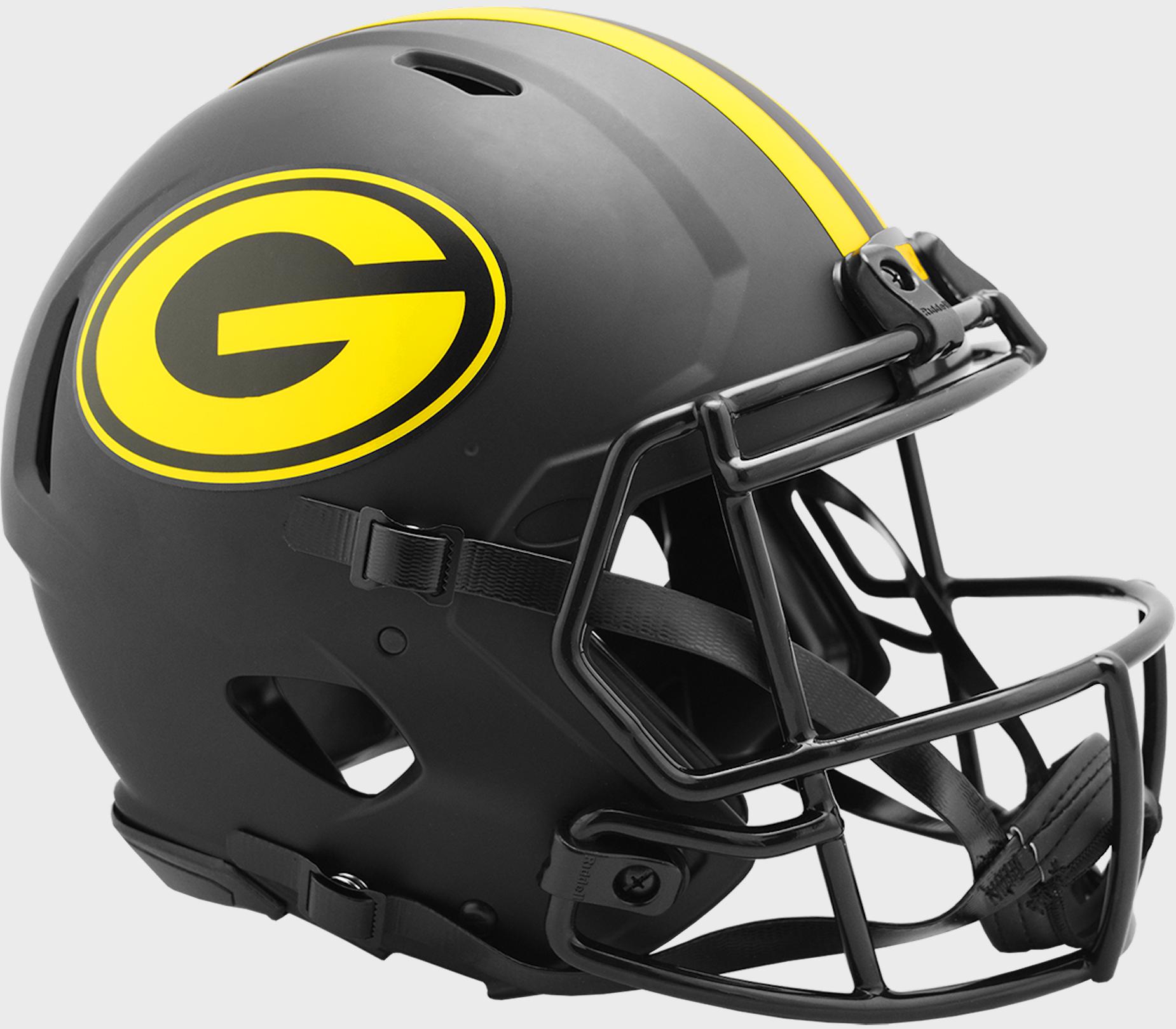 Green Bay Packers Speed Football Helmet <B>ECLIPSE</B>