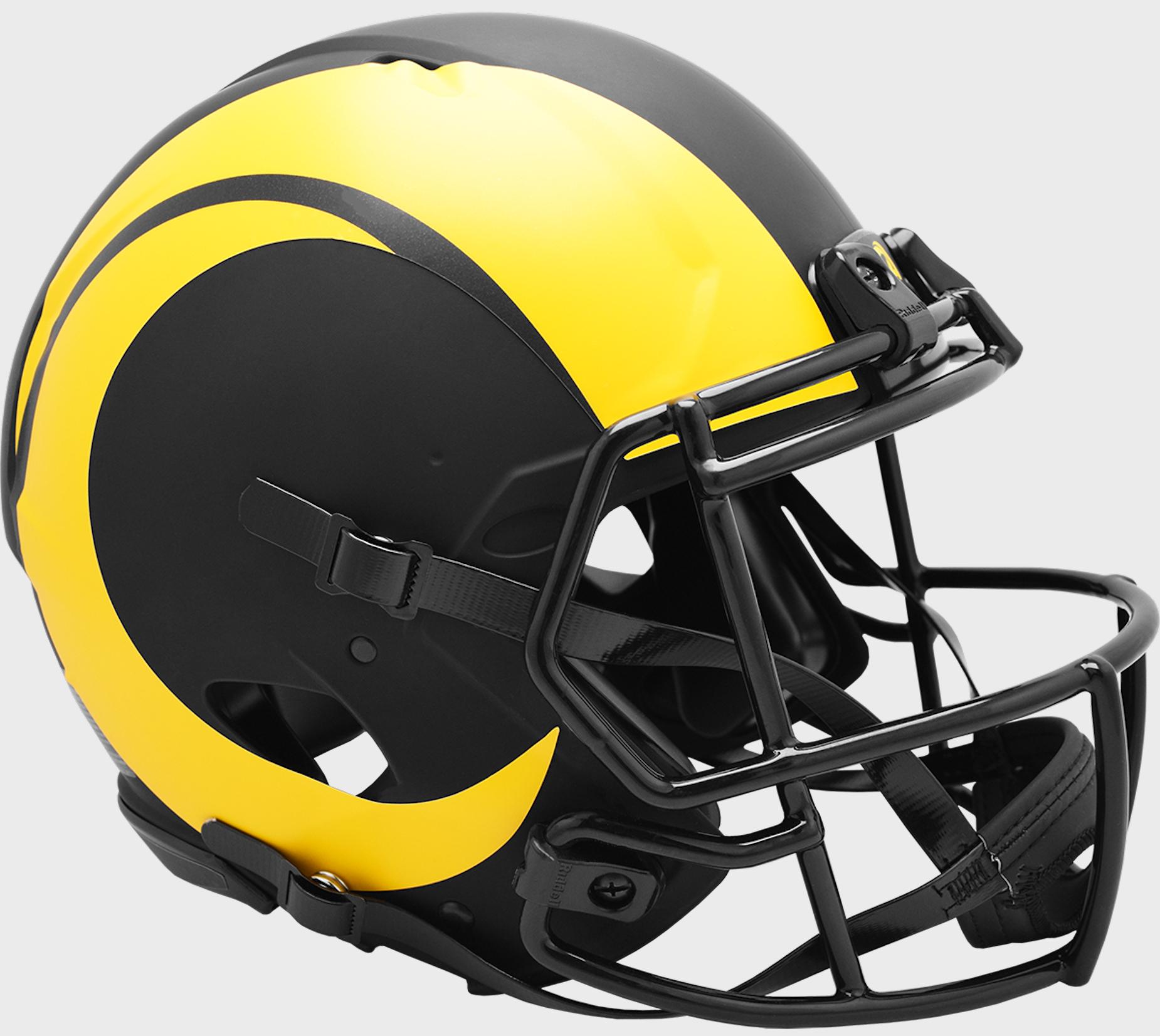 Los Angeles Rams Speed Football Helmet <B>ECLIPSE</B>