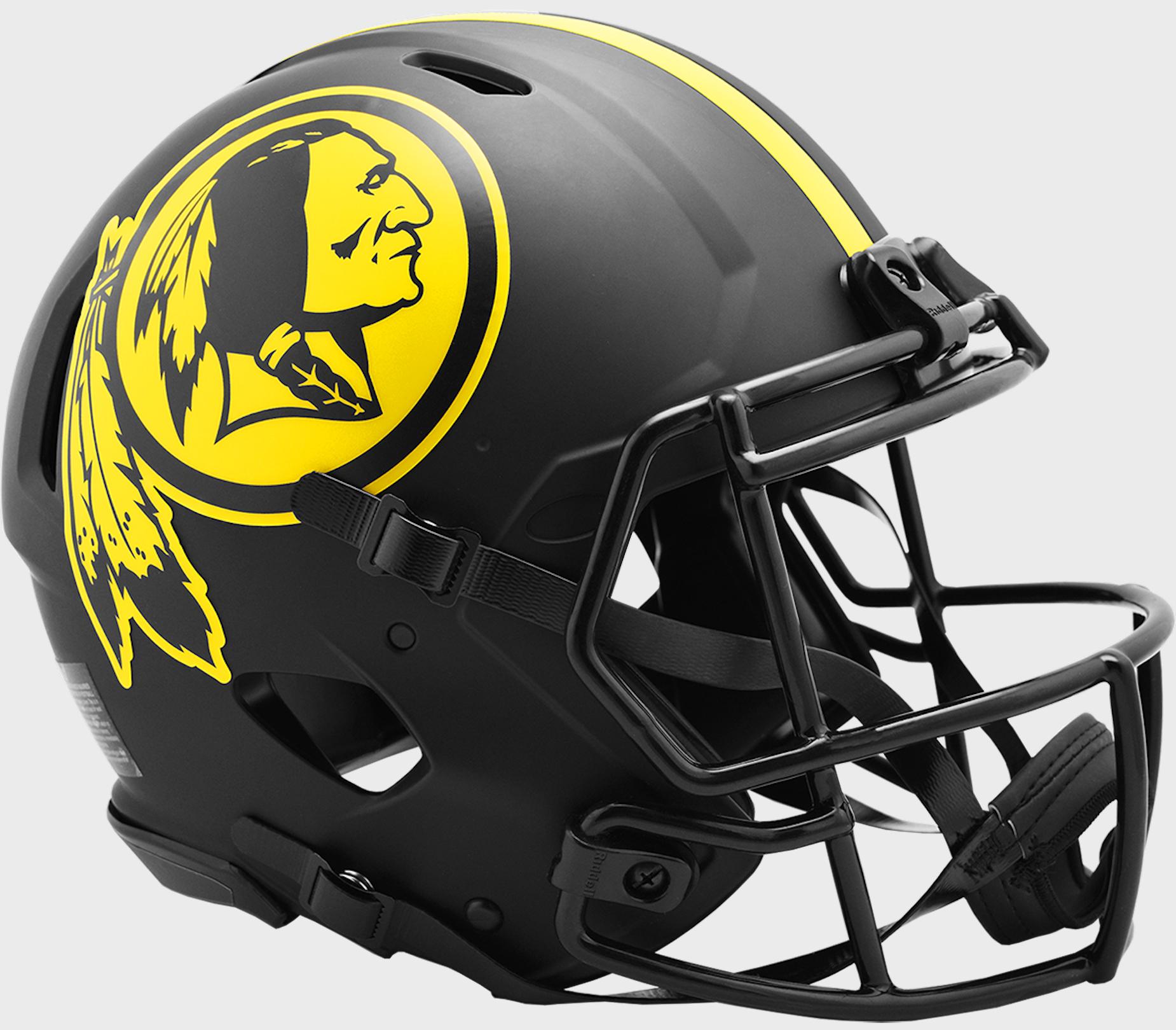 Washington Redskins Speed Football Helmet <B>ECLIPSE</B>
