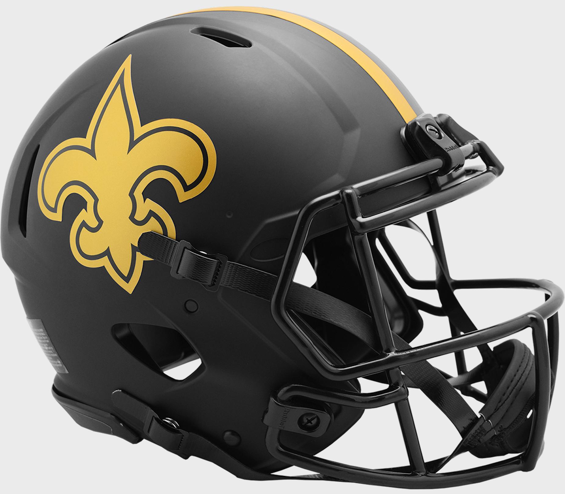 New Orleans Saints Speed Football Helmet <B>ECLIPSE</B>