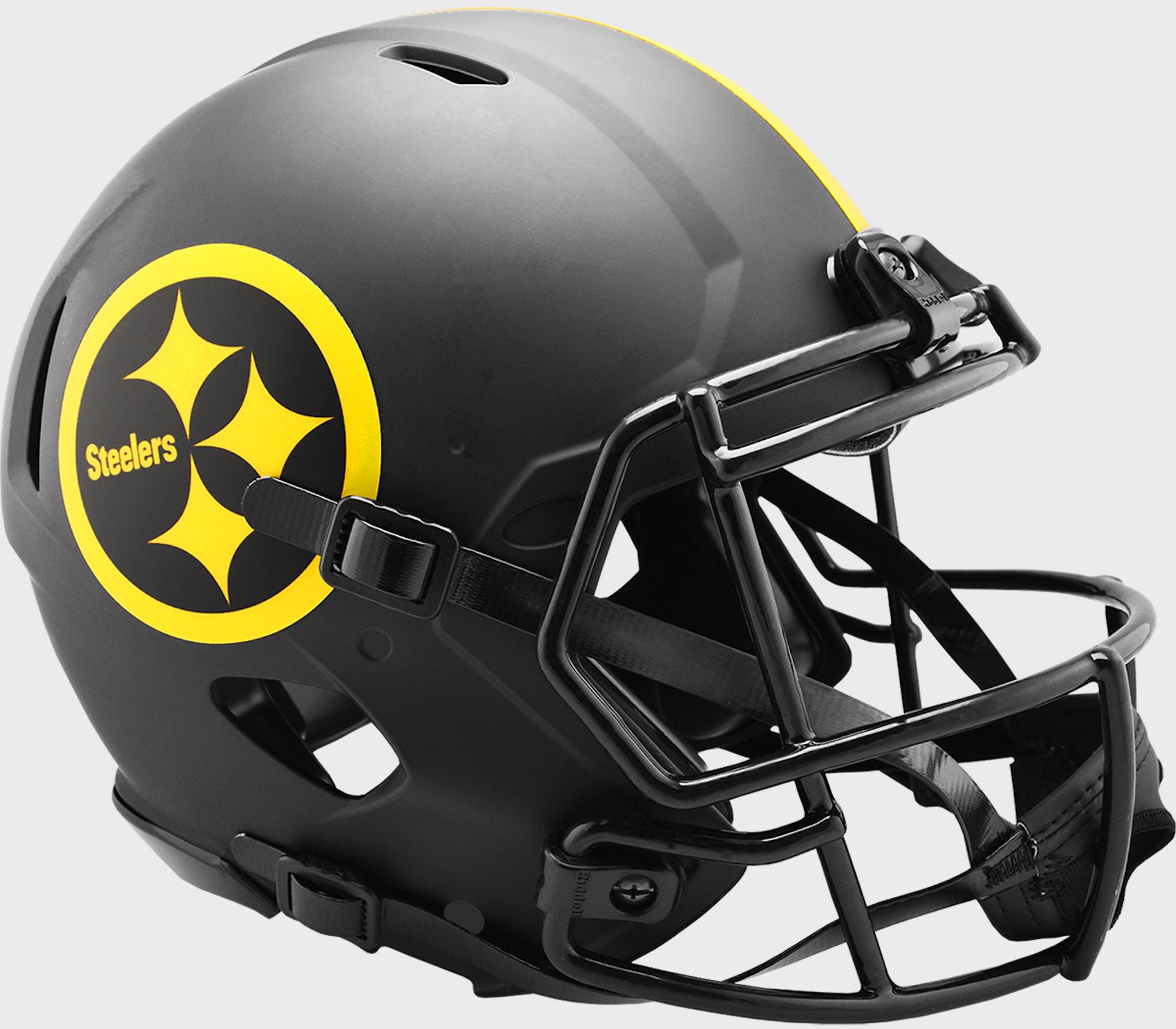 Pittsburgh Steelers Speed Football Helmet <B>ECLIPSE</B>