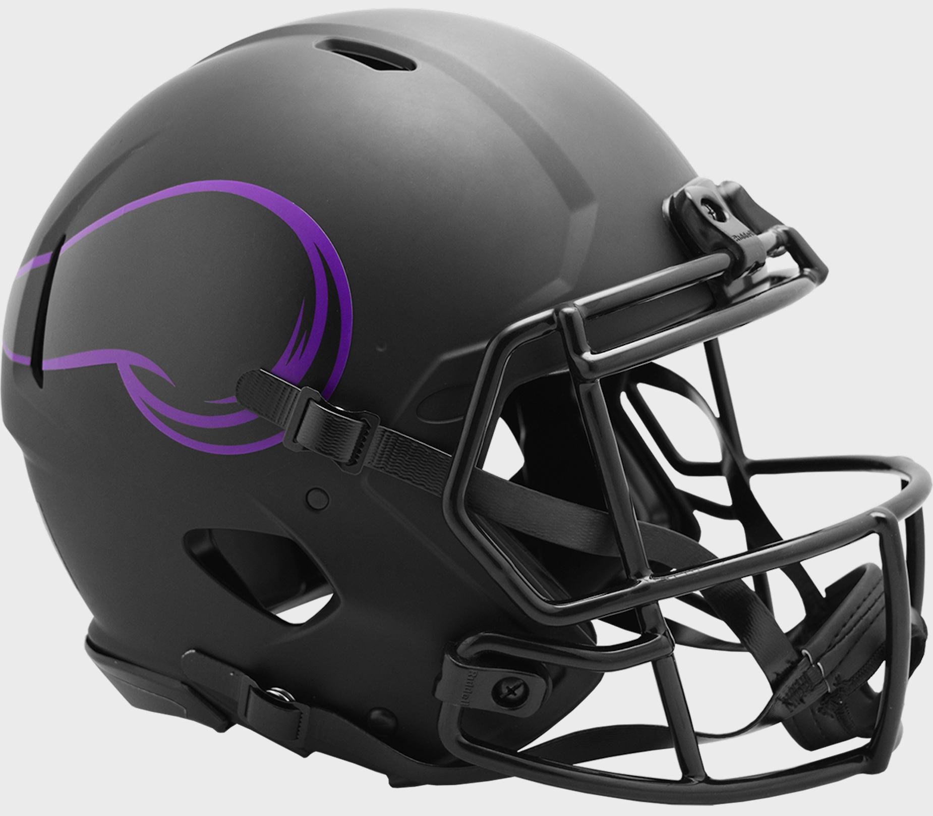 Minnesota Vikings Speed Football Helmet <B>ECLIPSE</B>