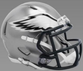 Philadelphia Eagles Speed Football Helmet <B>FLASH ESD 8/21/21</B>