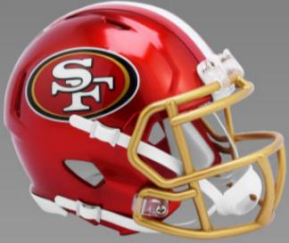 San Francisco 49ers SpeedFlex Football Helmet <B>FLASH ESD 8/21/21</B>
