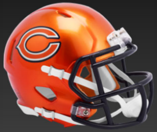 Chicago Bears SpeedFlex Football Helmet <B>FLASH ESD 8/21/21</B>