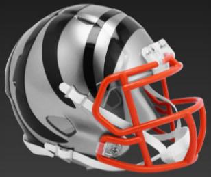 Cincinnati Bengals SpeedFlex Football Helmet <B>FLASH ESD 8/21/21</B>