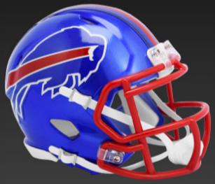 Buffalo Bills SpeedFlex Football Helmet <B>FLASH ESD 8/21/21</B>