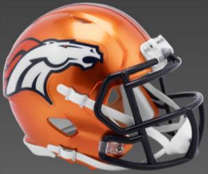 Denver Broncos SpeedFlex Football Helmet <B>FLASH ESD 8/21/21</B>