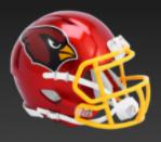 Arizona Cardinals SpeedFlex Football Helmet <B>FLASH ESD 8/21/21</B>