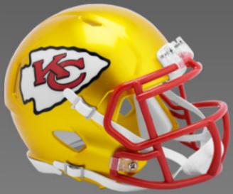 Kansas City Chiefs SpeedFlex Football Helmet <B>FLASH ESD 8/21/21</B>