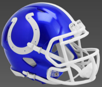 Indianapolis Colts SpeedFlex Football Helmet <B>FLASH ESD 8/21/21</B>