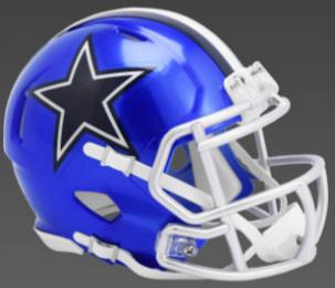 Dallas Cowboys SpeedFlex Football Helmet <B>FLASH ESD 8/21/21</B>