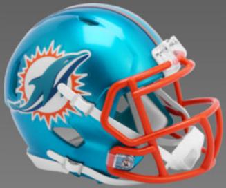 Miami Dolphins SpeedFlex Football Helmet <B>FLASH ESD 8/21/21</B>