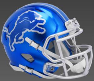 Detroit Lions SpeedFlex Football Helmet <B>FLASH ESD 8/21/21</B>