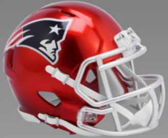 New England Patriots SpeedFlex Football Helmet <B>FLASH ESD 8/21/21</B>