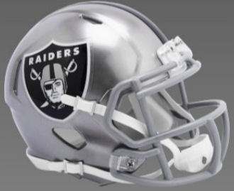 Las Vegas Raiders SpeedFlex Football Helmet <B>FLASH ESD 8/21/21</B>