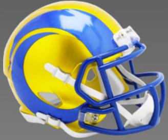 Los Angeles Rams SpeedFlex Football Helmet <B>FLASH ESD 8/21/21</B>