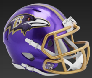 Baltimore Ravens SpeedFlex Football Helmet <B>FLASH ESD 8/21/21</B>