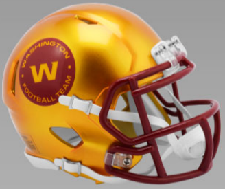 Washington Football Team SpeedFlex Football Helmet <B>FLASH ESD 8/21/21</B>