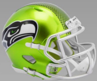 Seattle Seahawks SpeedFlex Football Helmet <B>FLASH ESD 8/21/21</B>