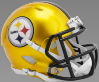 Pittsburgh Steelers SpeedFlex-Football Helmet <B>FLASH ESD 8/21/21</B>