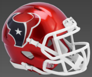 Houston Texans SpeedFlex Football Helmet <B>FLASH ESD 8/21/21</B>