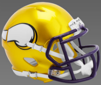 Minnesota Vikings SpeedFlex Football Helmet <B>FLASH ESD 8/21/21</B>