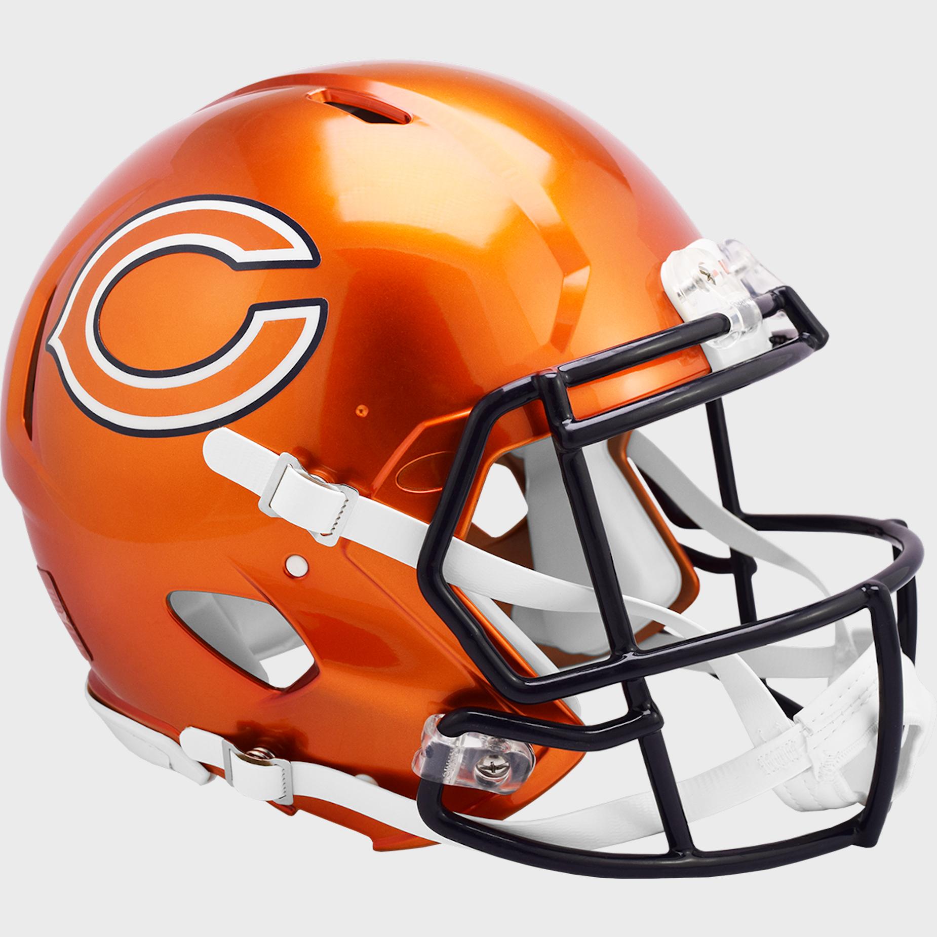 Chicago Bears Speed Football Helmet <B>FLASH ESD 8/21/21</B>