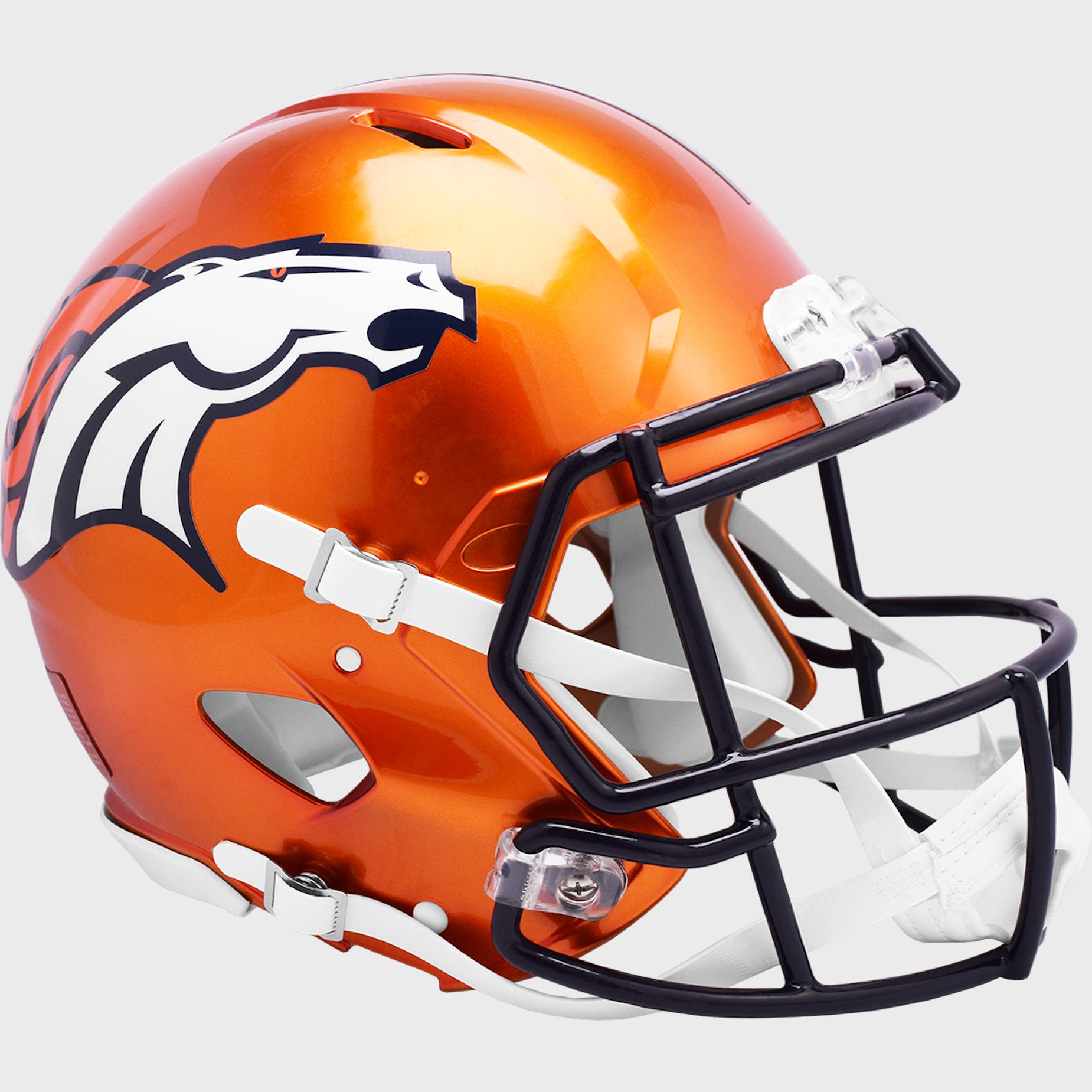 Denver Broncos Speed Football Helmet <B>FLASH ESD 8/21/21</B>