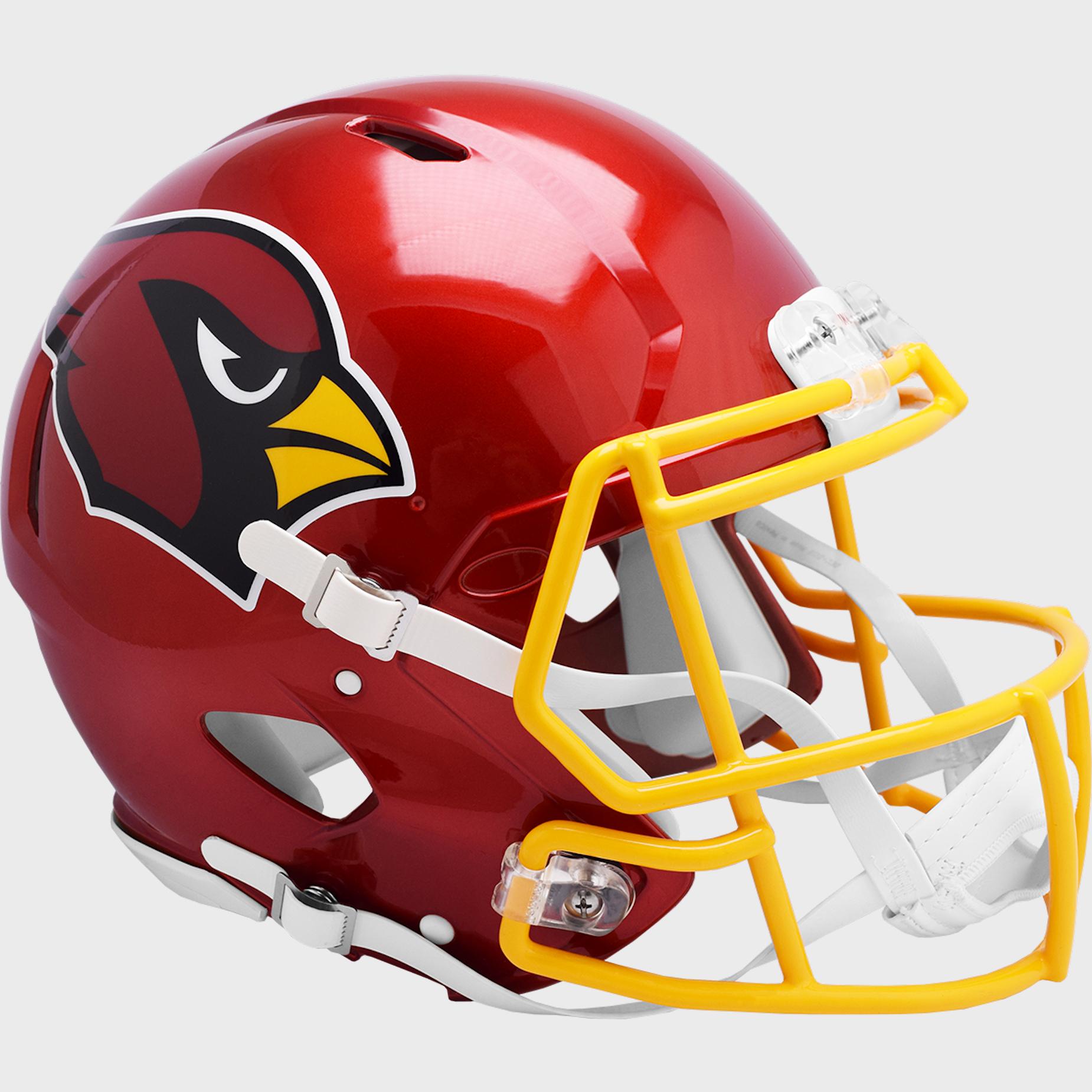 Arizona Cardinals Speed Football Helmet <B>FLASH ESD 8/21/21</B>