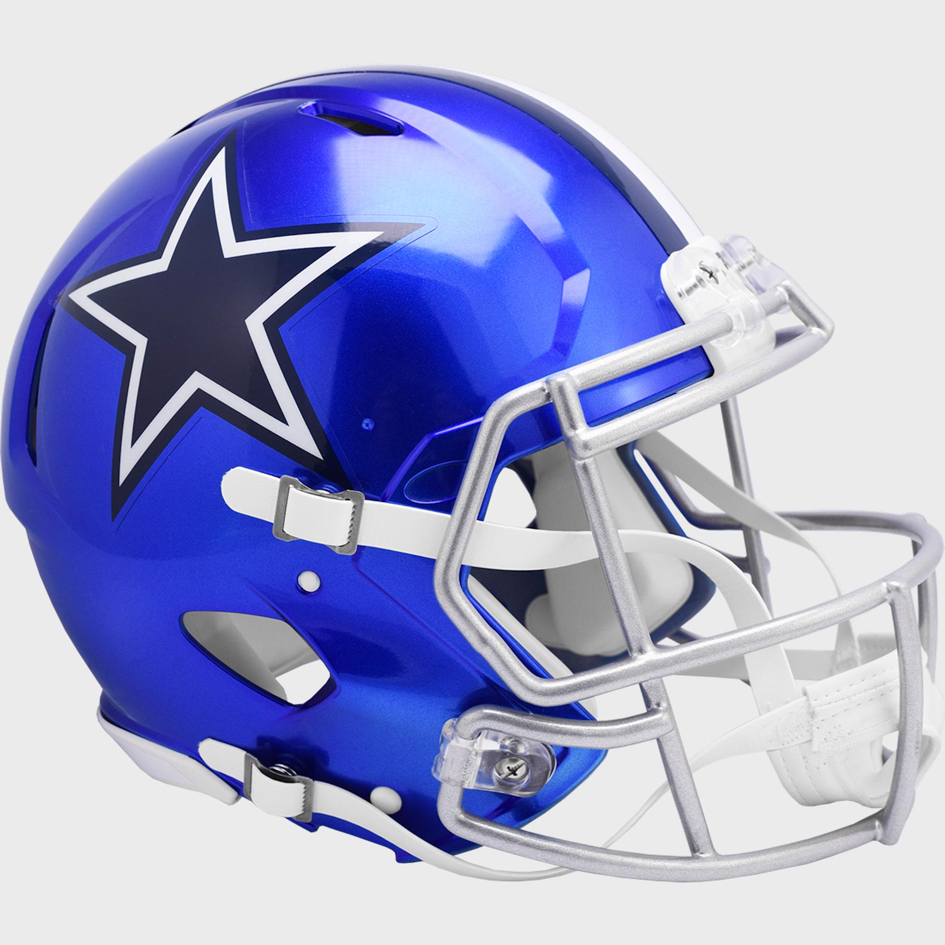 Dallas Cowboys Speed Football Helmet <B>FLASH ESD 8/21/21</B>