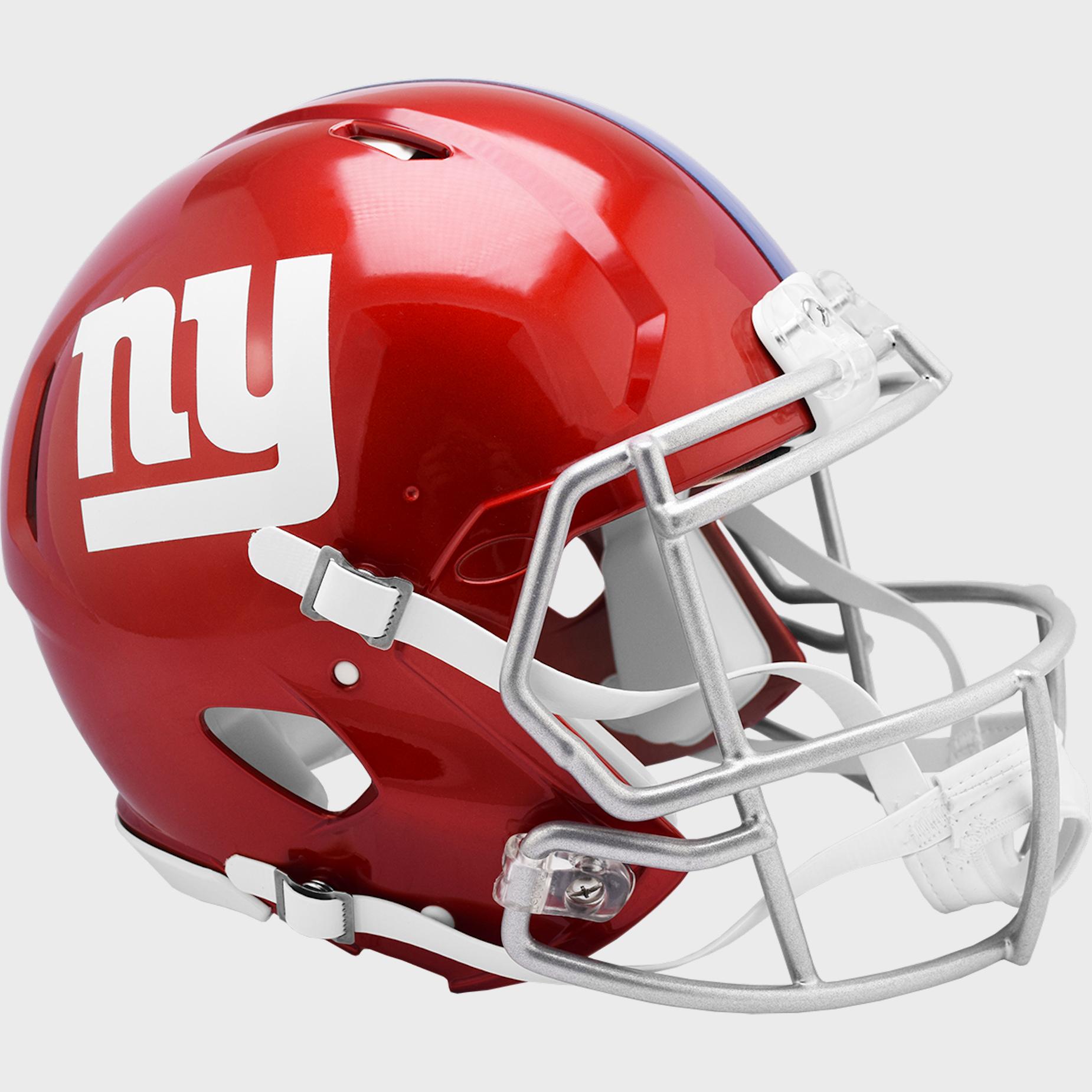 New York Giants Speed Football Helmet <B>FLASH ESD 8/21/21</B>