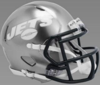 New York Jets Speed Football Helmet <B>FLASH ESD 8/21/21</B>