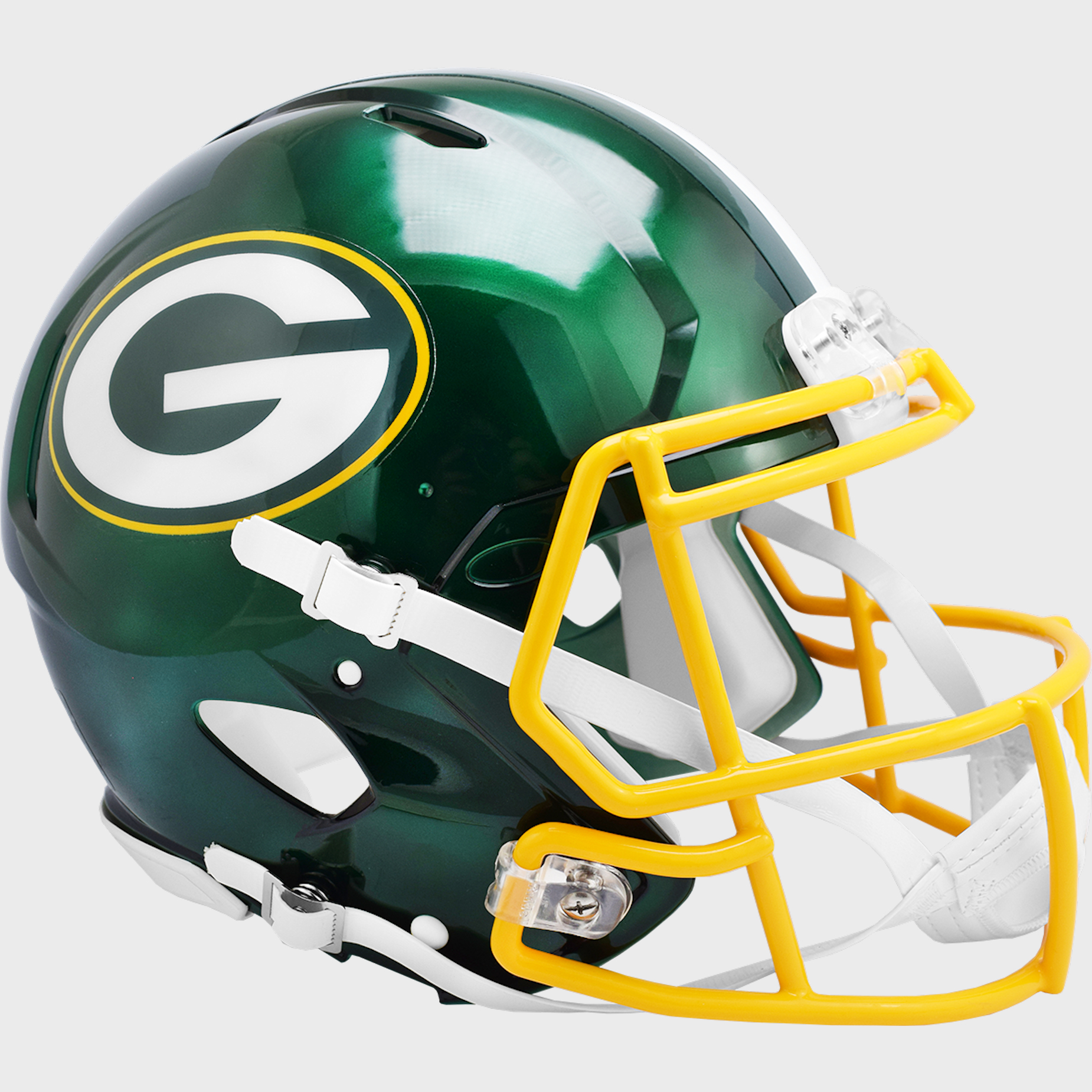 Green Bay Packers Speed Football Helmet <B>FLASH ESD 8/21/21</B>