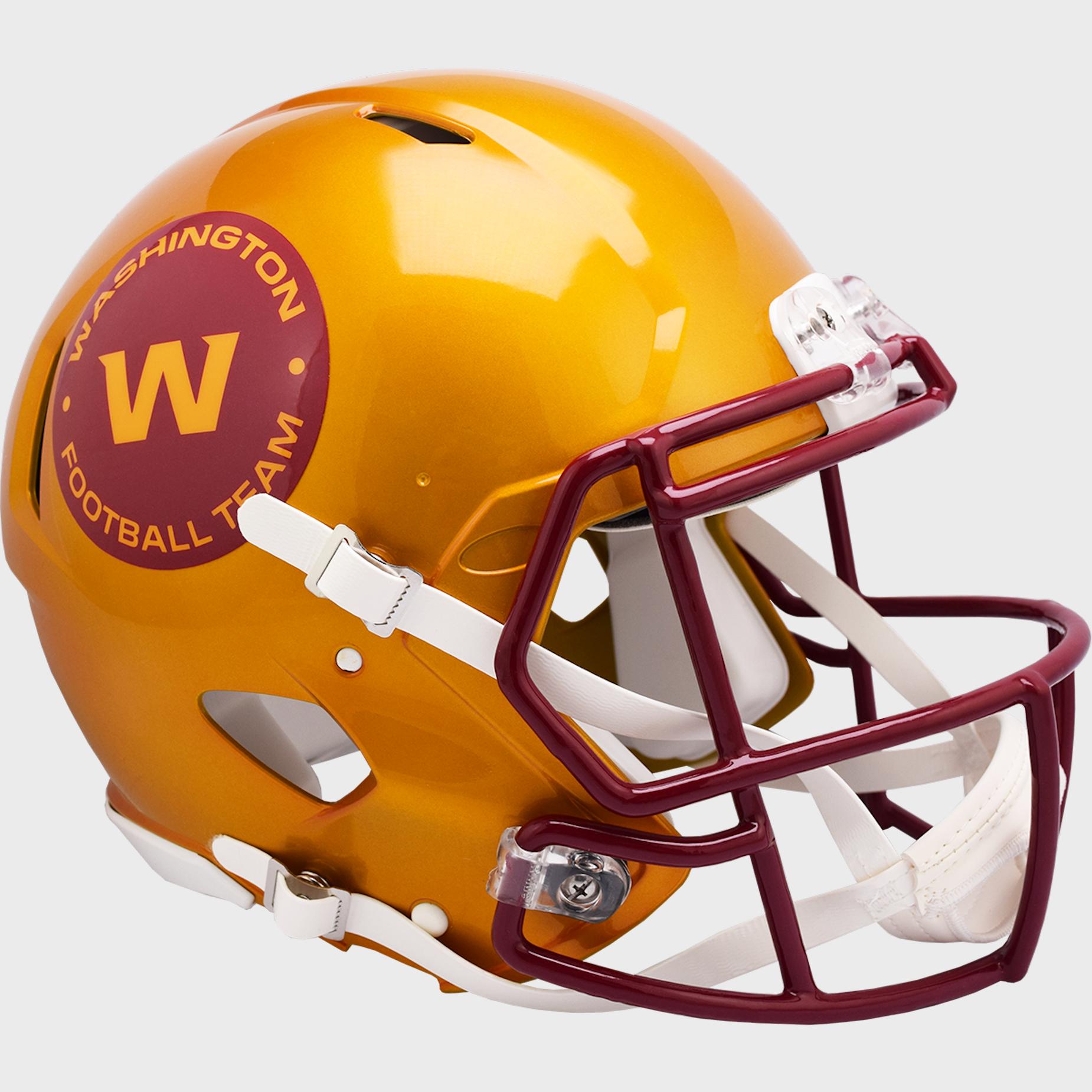 Washington Football Team Speed Football Helmet <B>FLASH ESD 8/21/21</B>