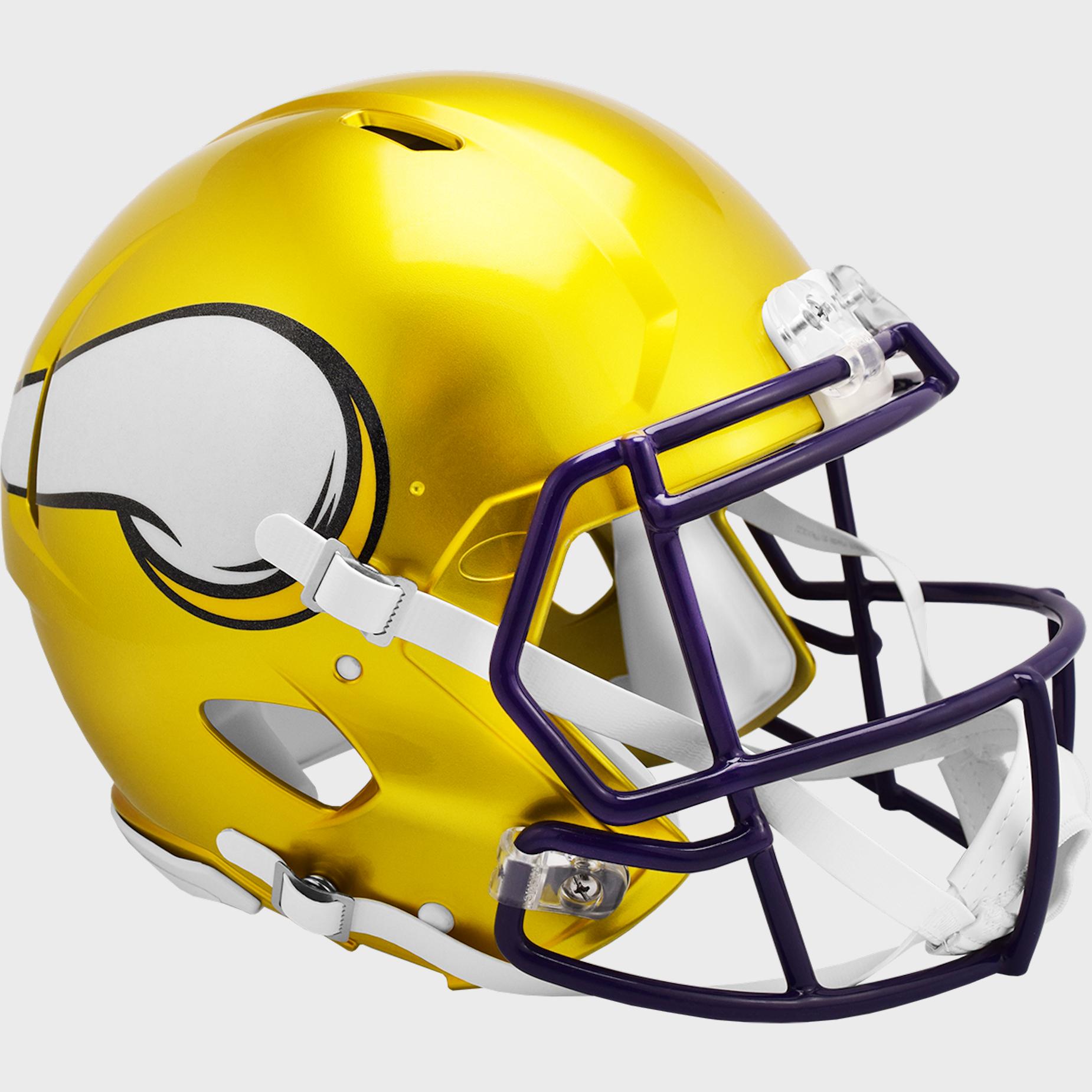Minnesota Vikings Speed Football Helmet <B>FLASH ESD 8/21/21</B>