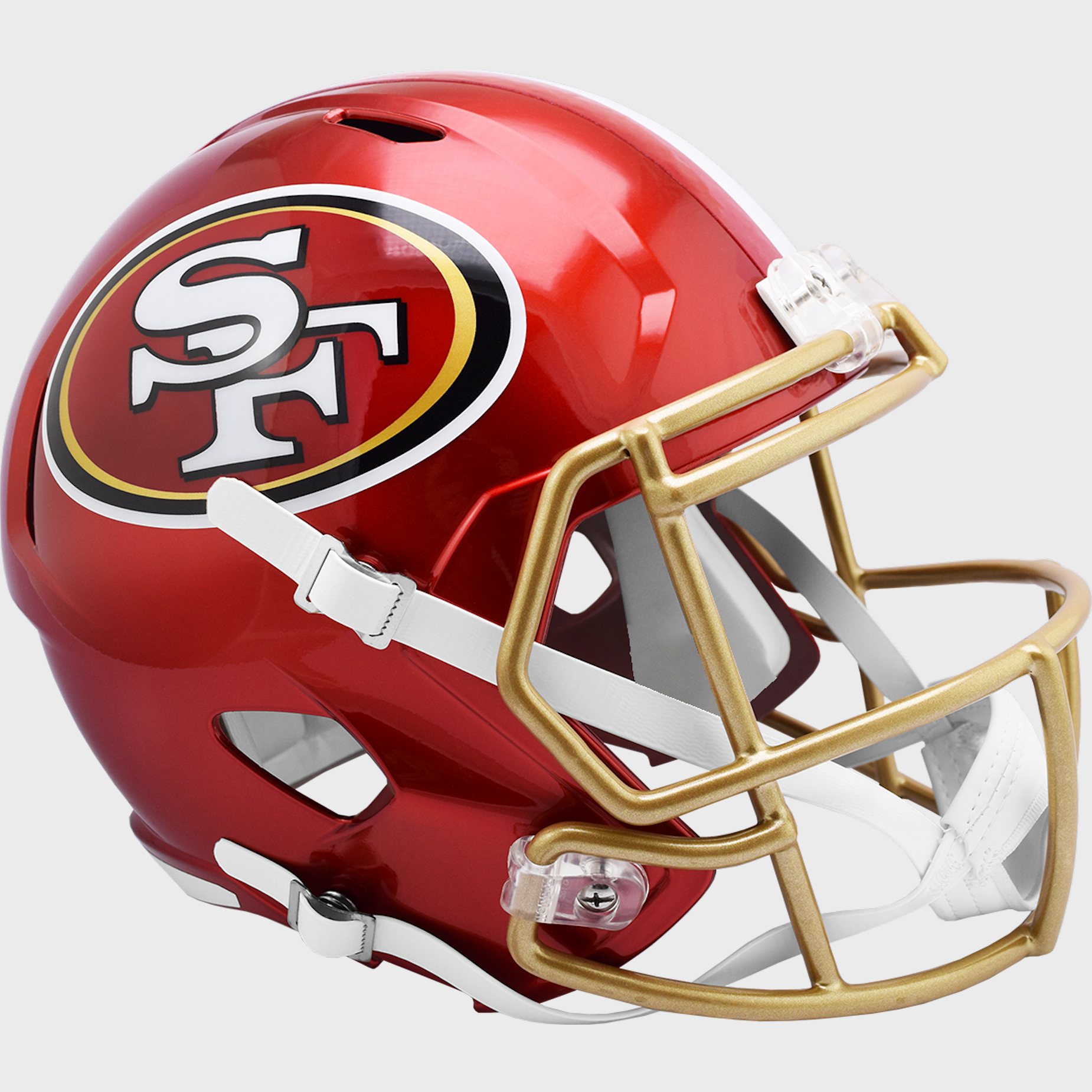 San Francisco 49ers Speed Replica Football Helmet <B>FLASH ESD 8/21/21</B>