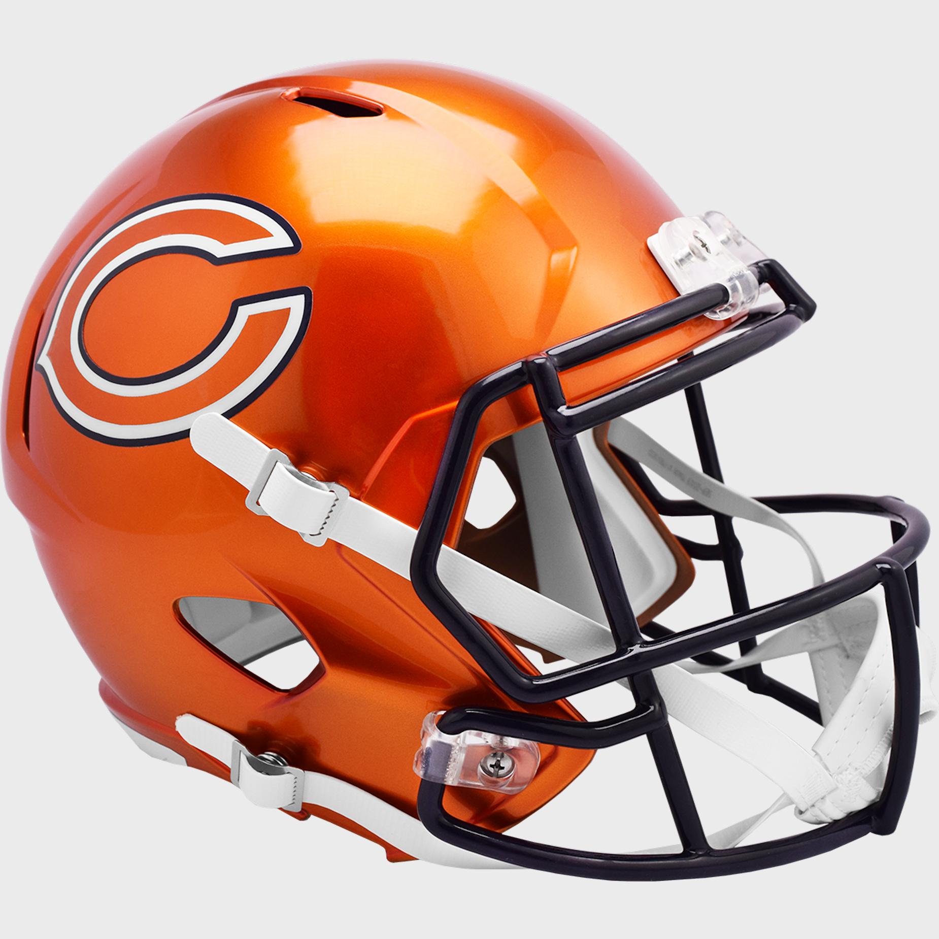 Chicago Bears Speed Replica Football Helmet <B>FLASH ESD 8/21/21</B>