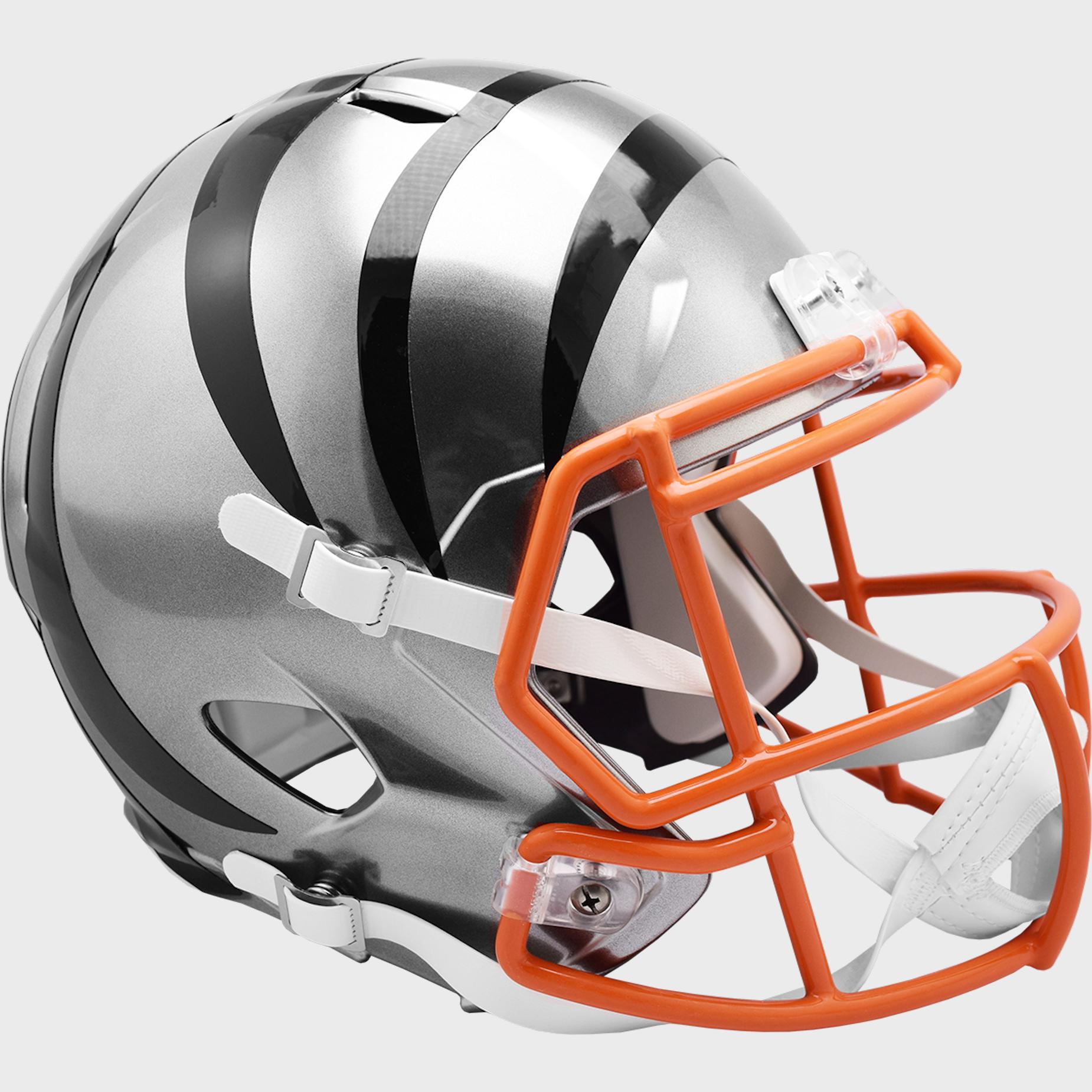 Cincinnati Bengals Speed Replica Football Helmet <B>FLASH ESD 8/21/21</B>