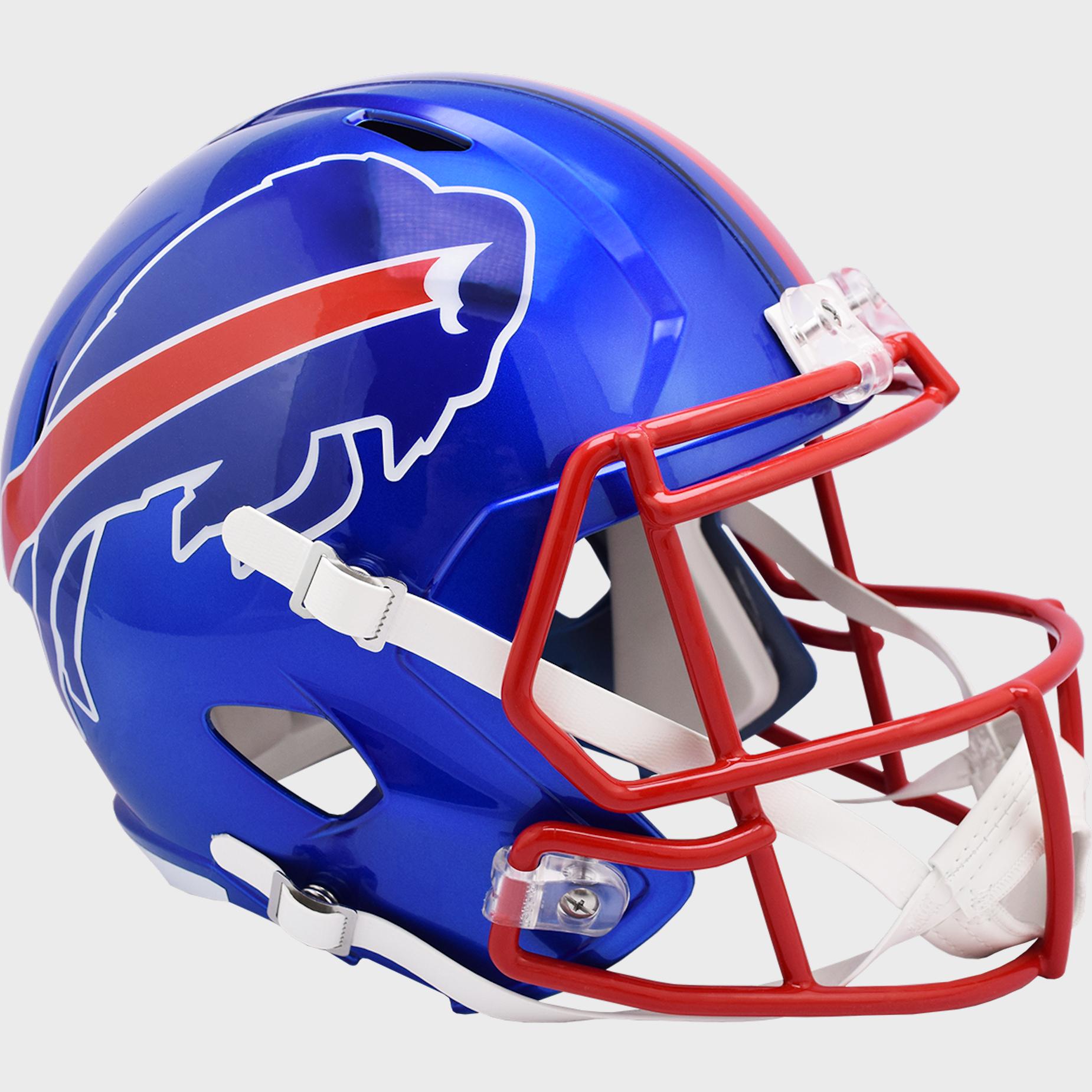 Buffalo Bills Speed Replica Football Helmet <B>FLASH ESD 8/21/21</B>