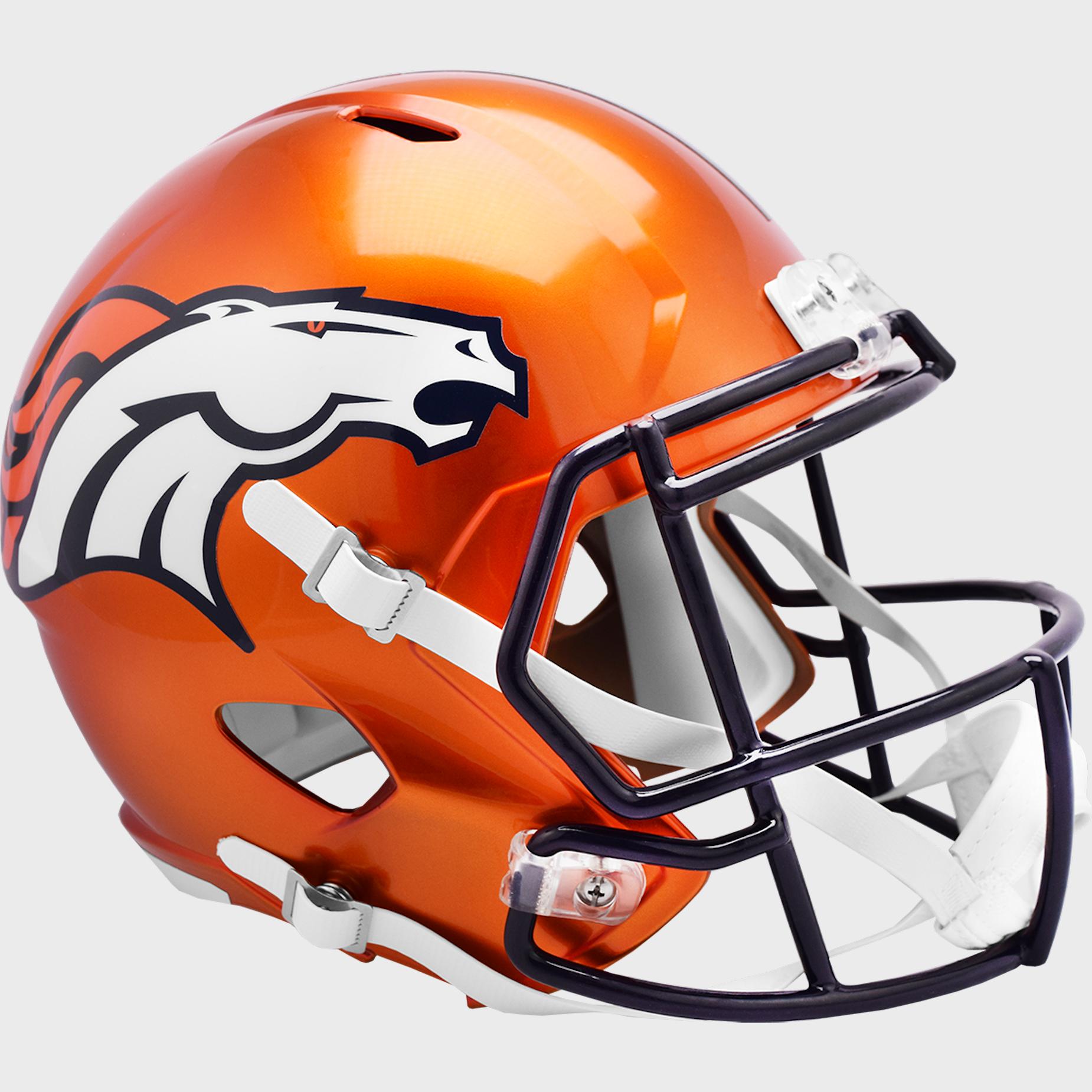 Denver Broncos Speed Replica Football Helmet <B>FLASH ESD 8/21/21</B>