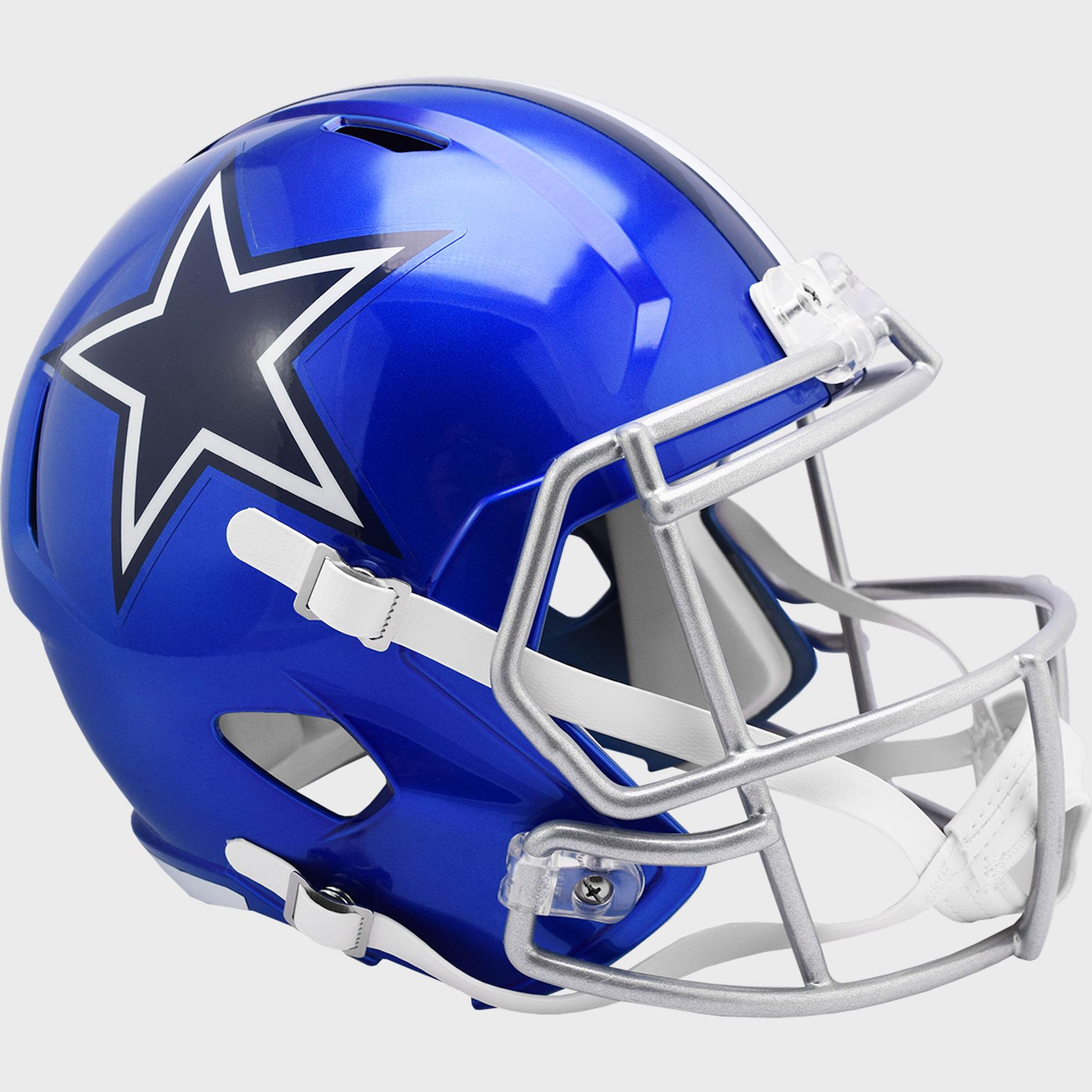 Dallas Cowboys Speed Replica Football Helmet <B>FLASH ESD 8/21/21</B>