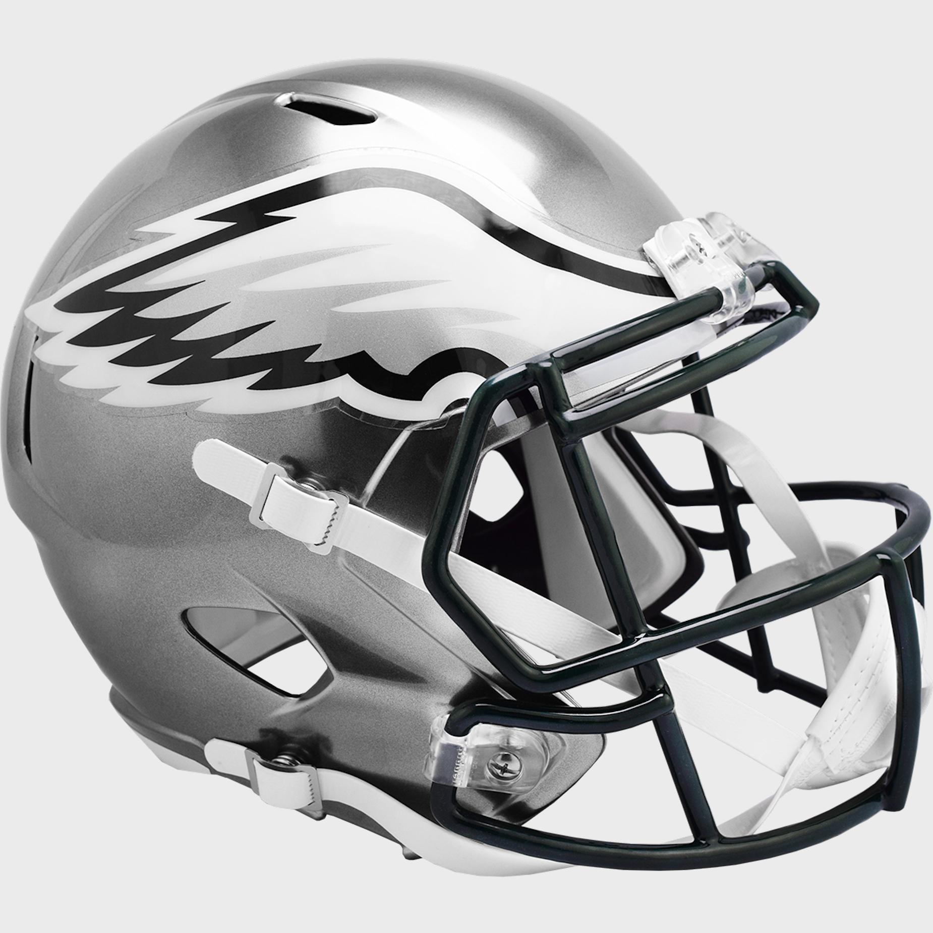 Philadelphia Eagles Speed Replica Football Helmet <B>FLASH ESD 8/21/21</B>