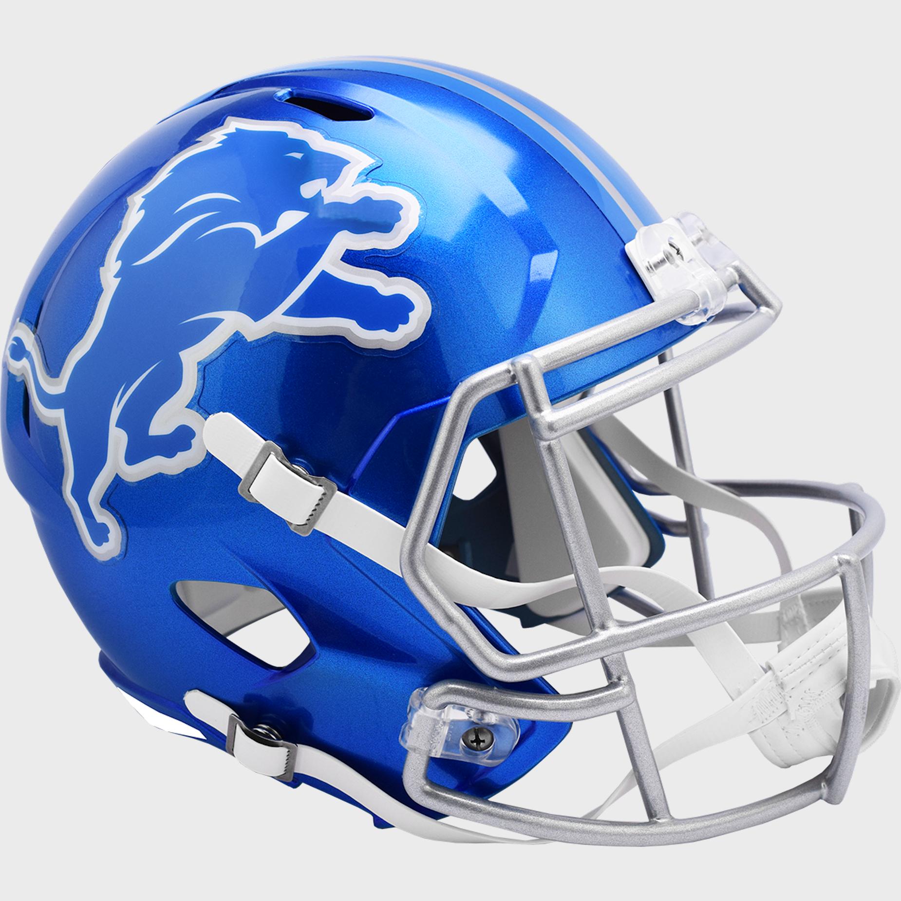 Detroit Lions Speed Replica Football Helmet <B>FLASH ESD 8/21/21</B>