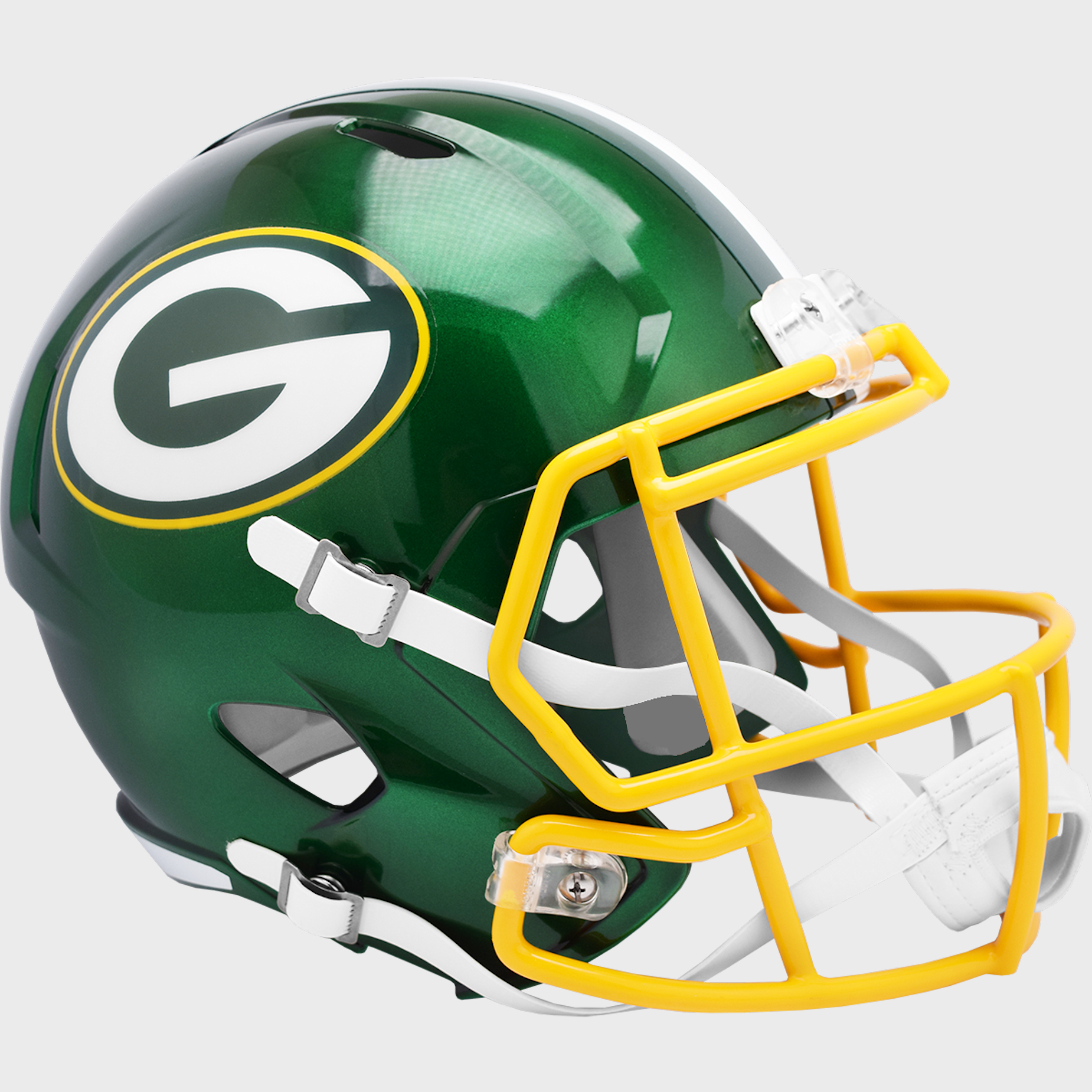 Green Bay Packers Speed Replica Football Helmet <B>FLASH ESD 8/21/21</B>