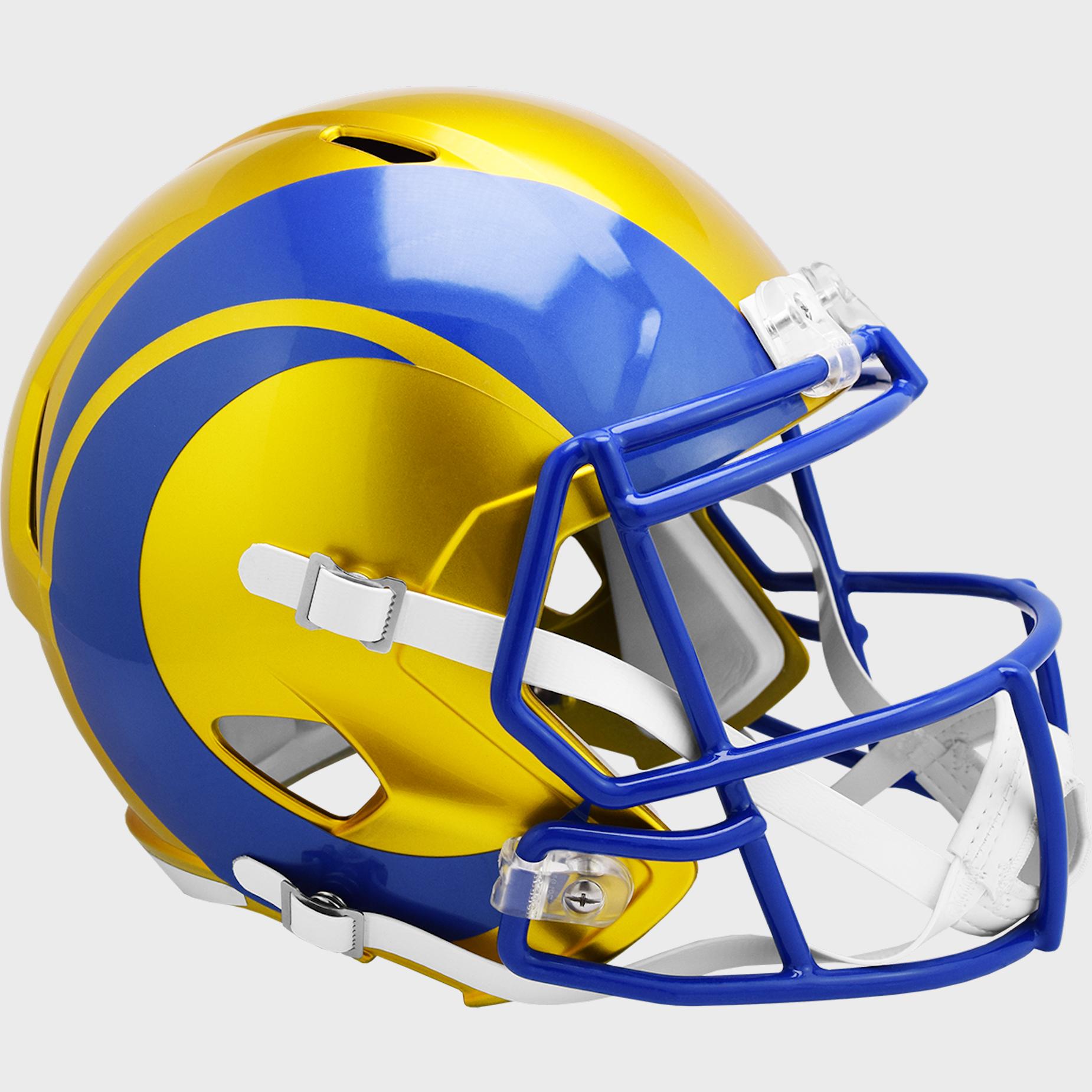 Los Angeles Rams Speed Replica Football Helmet <B>FLASH ESD 8/21/21</B>