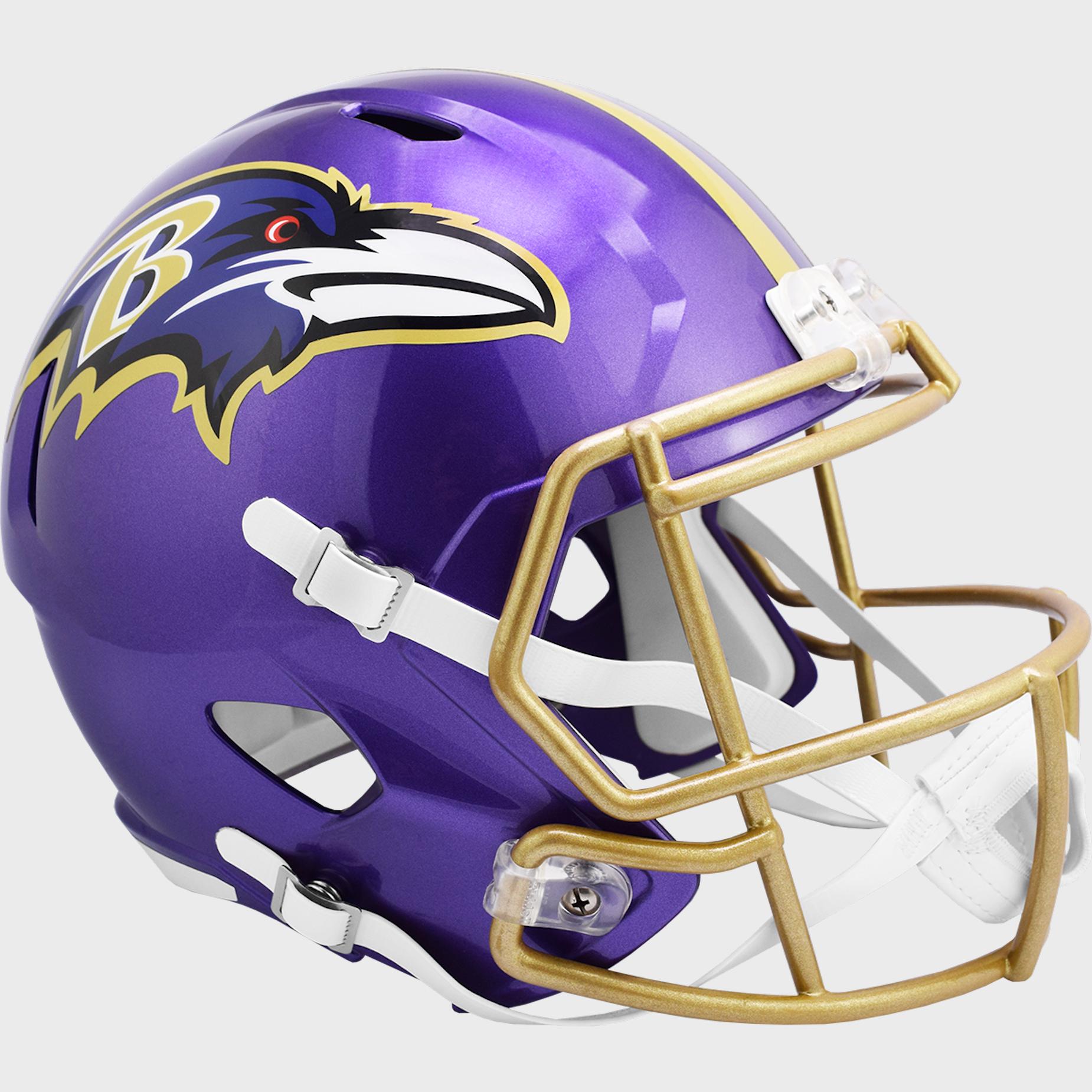 Baltimore Ravens Speed Replica Football Helmet <B>FLASH ESD 8/21/21</B>