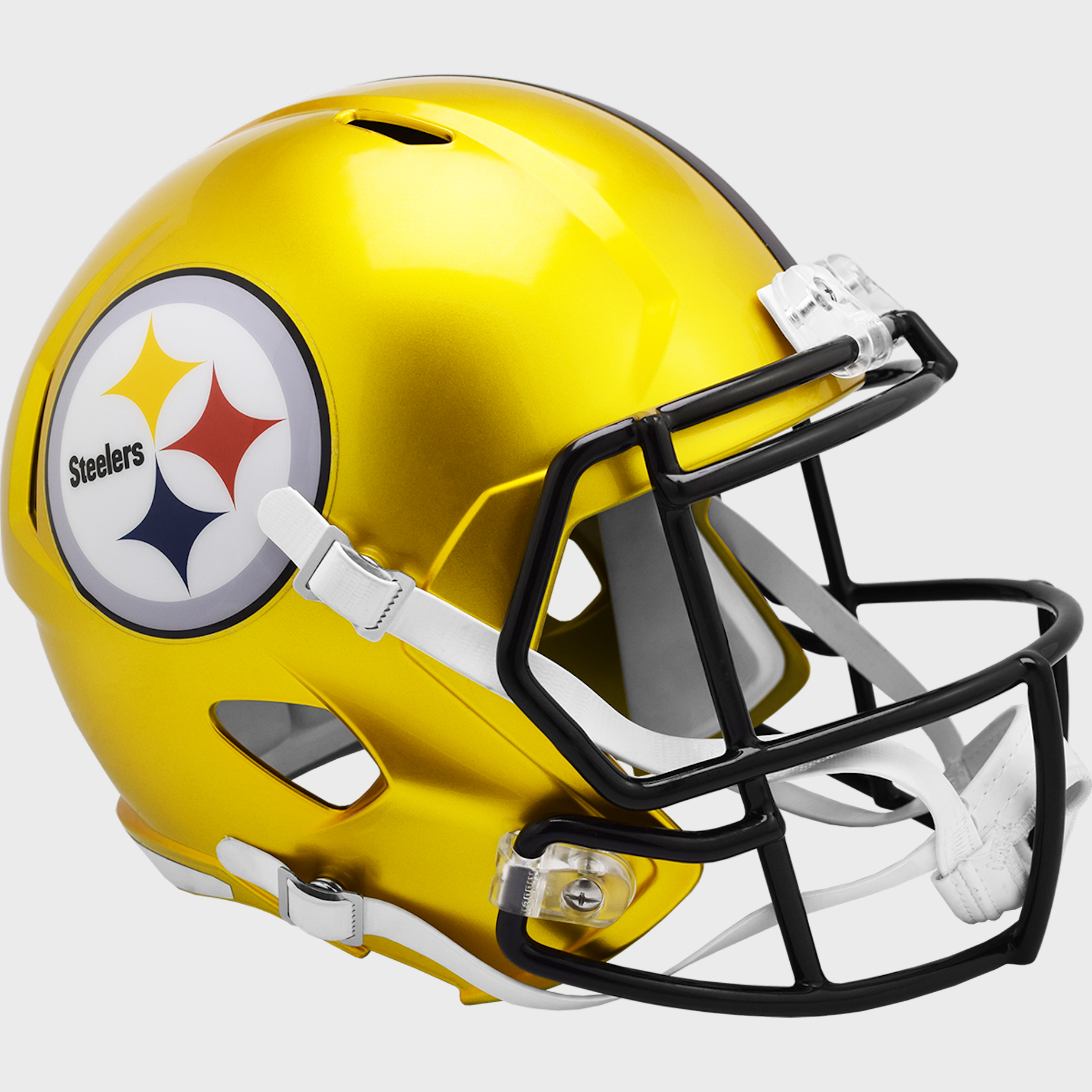 Pittsburgh Steelers Speed Replica Football Helmet <B>FLASH ESD 8/21/21</B>