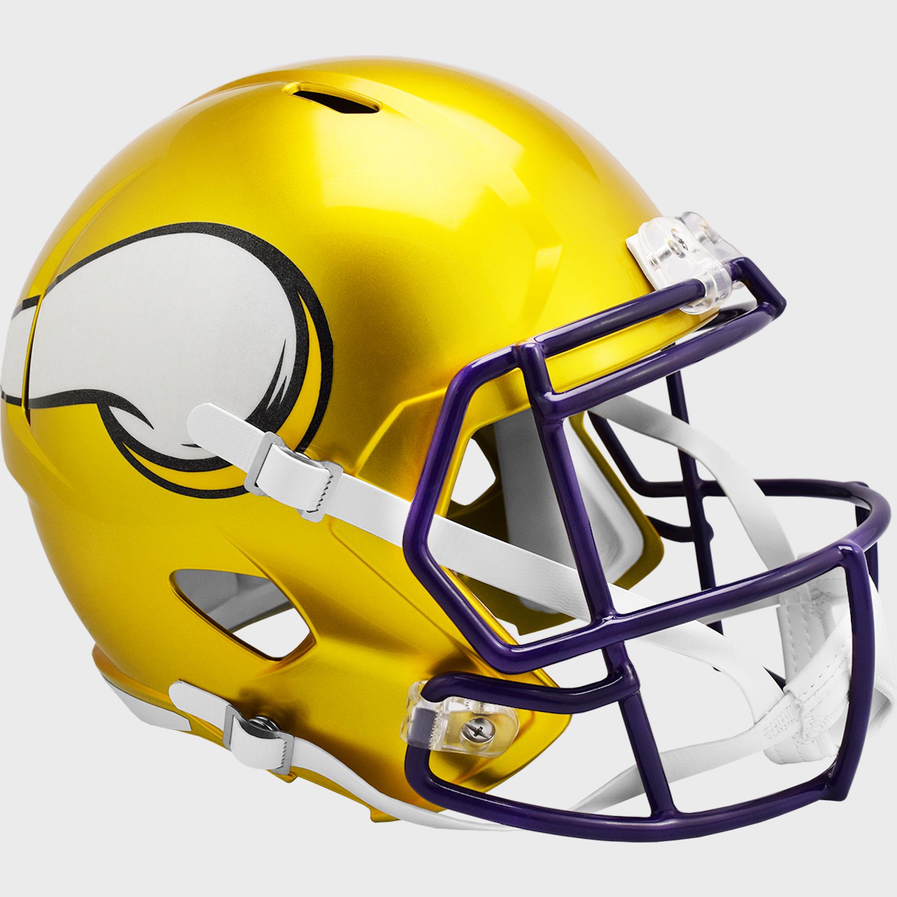 Minnesota Vikings Speed Replica Football Helmet <B>FLASH ESD 8/21/21</B>